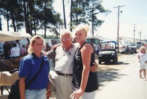 Delaware State Fair in 2002. He loved to stick his tongue out at us.