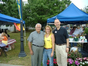 The was at the Milford Farmer's Market one year. He loved to help us every Saturday morning. And the customers loved him.